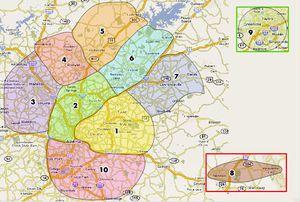 Pics Photos  Atlanta Zone Map